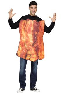 Fun World Costumes Bacon & Eggs - Couples Costume
