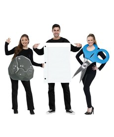 Fun World Costumes Rock Paper Scissors Adult Costume