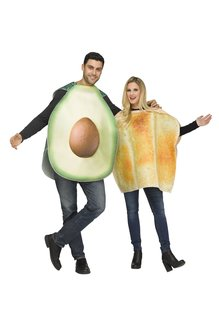 Fun World Costumes Avocado & Toast - Couples Costume