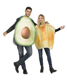 Fun World Costumes Avocado & Toast - Couples Costume