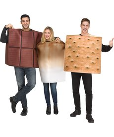 Fun World Costumes S'Mores Costume - Couples Costume