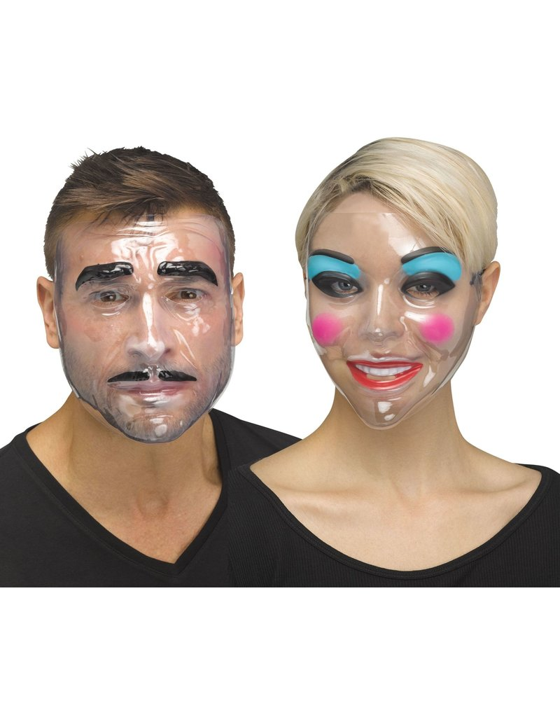 Fun World Costumes Clear Makeup Mask