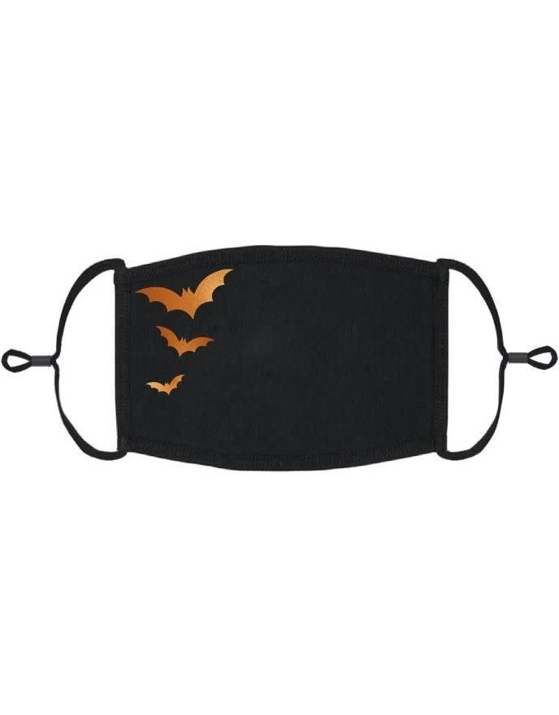 Adjustable Coronavirus Halloween Mask: Halloween Bats (1pk.)