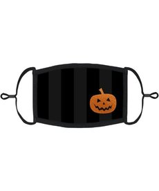 Adjustable Coronavirus Halloween Mask: Halloween Pumpkin