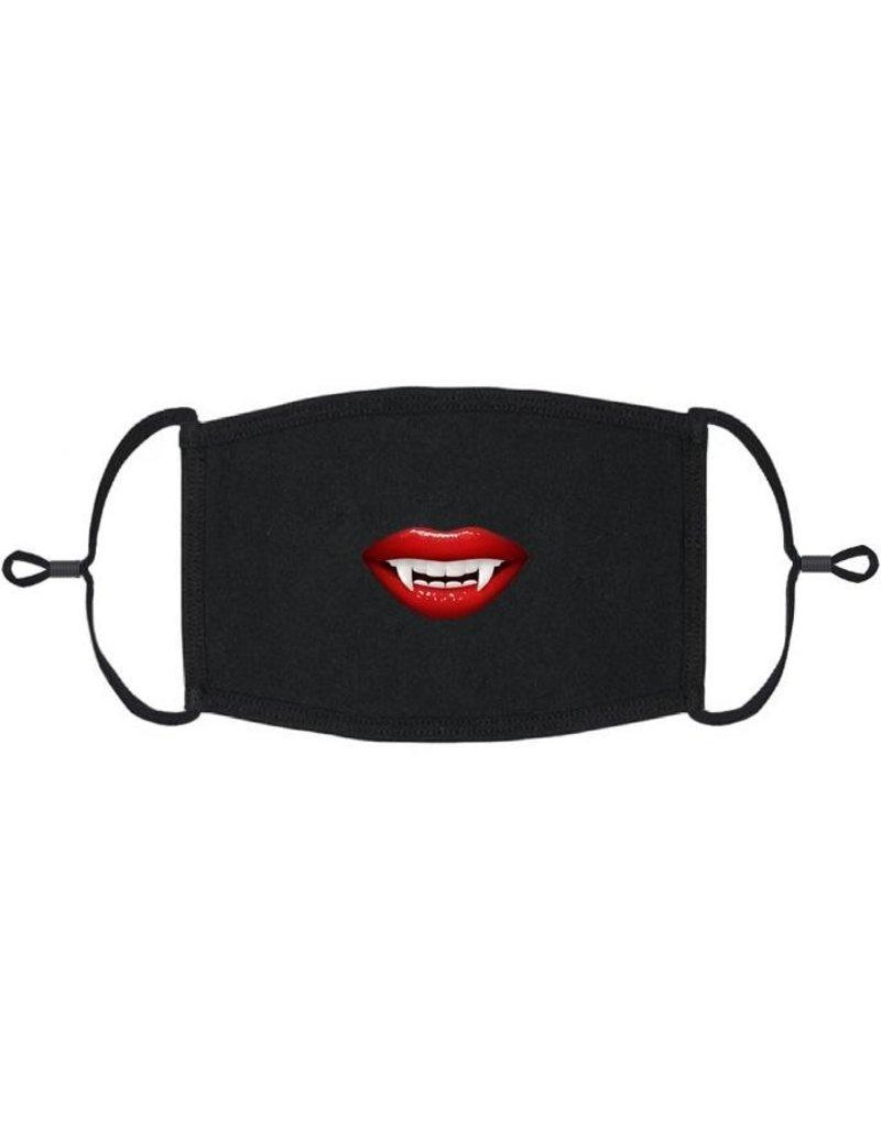 Adjustable Coronavirus Halloween Mask: Vampire Mouth (1 pk.)
