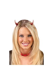 Fun World Costumes Barrette Devil Horns
