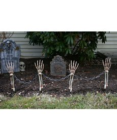 Fun World Costumes Shackled Skele-Arm Stakes