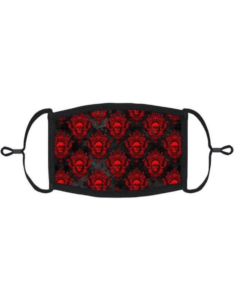 Adjustable Fabric Face Mask: Gothic