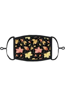 Adjustable Fabric Face Mask: Fall Leaves