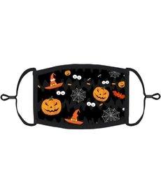 Kids Fabric Face Mask: Halloween