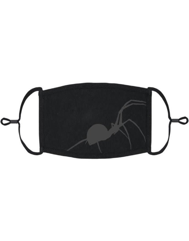 Adjustable Fabric Face Mask: Spider