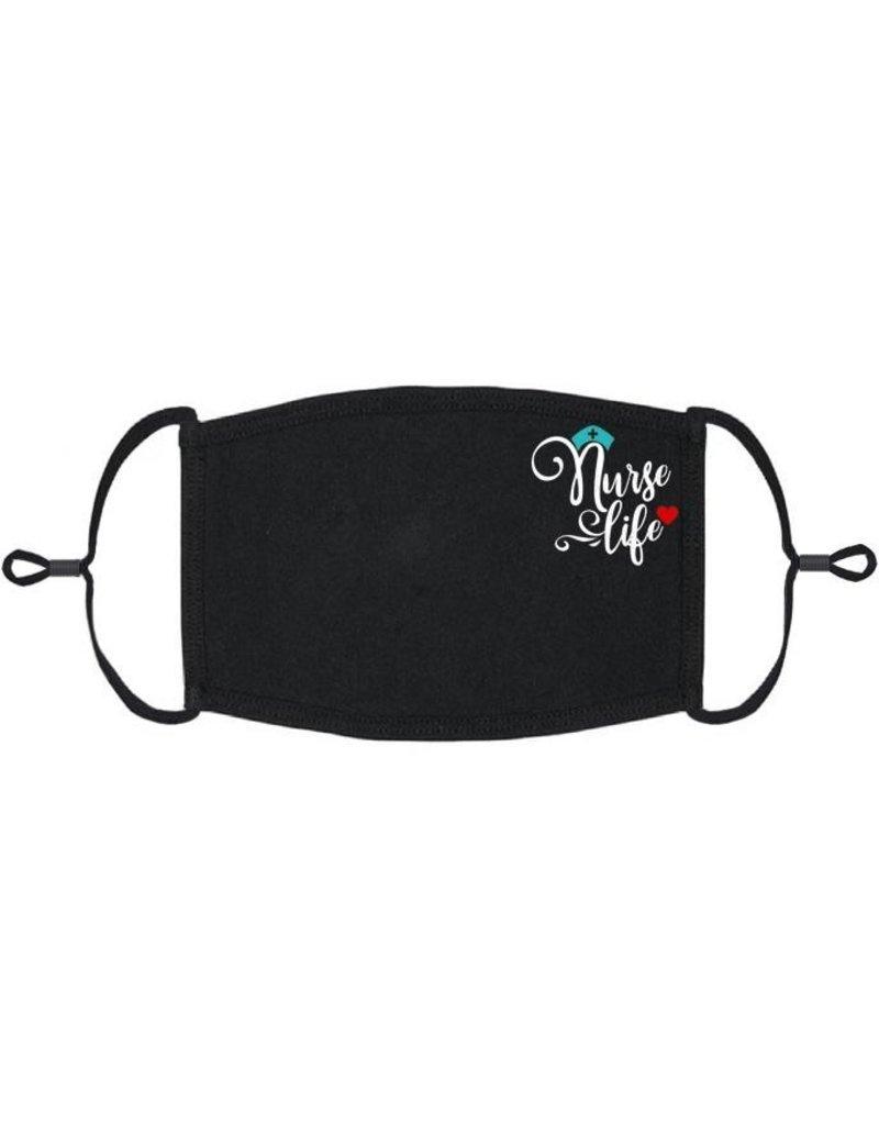 Adjustable Fabric Face Mask: Nurse Life