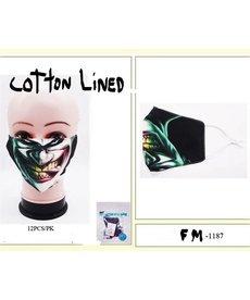 Fashion Face Mask: Biting Joker