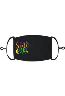 Adjustable Fabric Face Mask: I Put a Spell on You (1pk.)