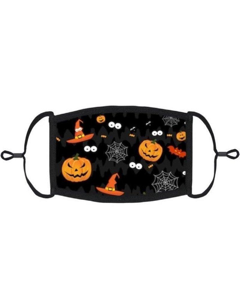 Adjustable Fabric Face Mask: Halloween (1pk.)