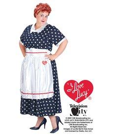 Fun World Costumes Classic Polka Dot Dress (I Love Lucy) - Plus