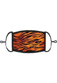 Adjustable Fabric Face Mask: Orange Tiger (1pk.)
