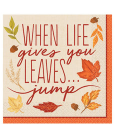 Luncheon Napkins: Fall Foliage (16ct.)