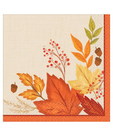 Dinner Napkins: Fall Foliage (16ct.)