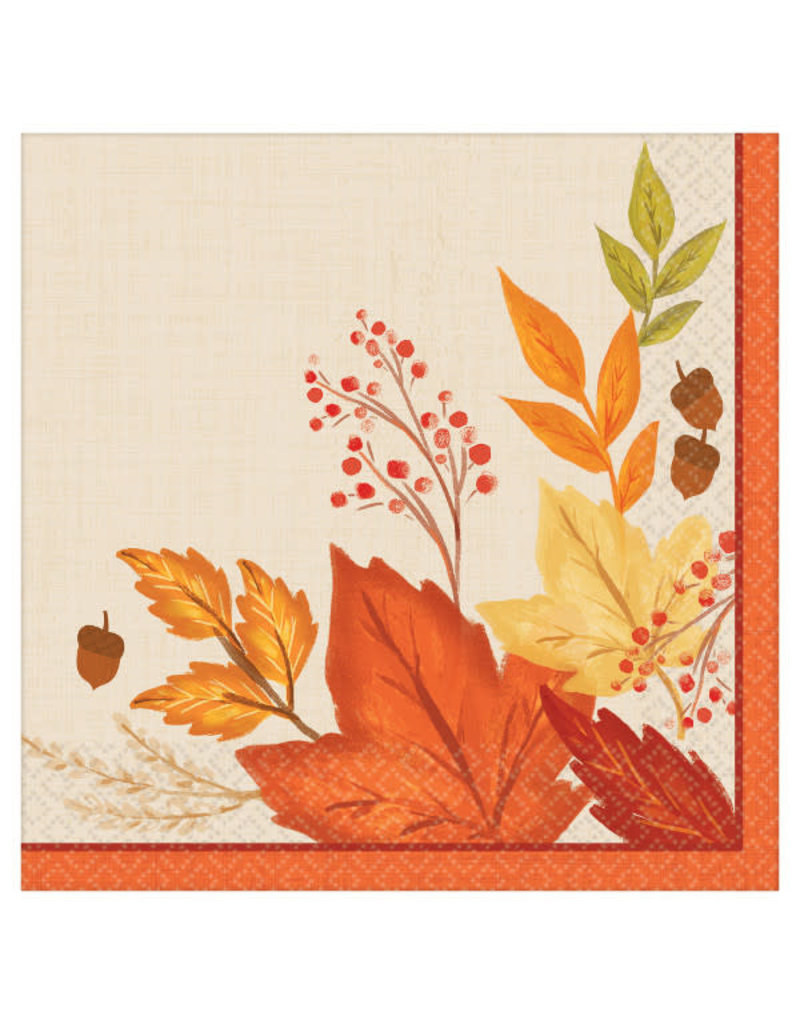 Dinner Napkins: Fall Foliage (16ct.)