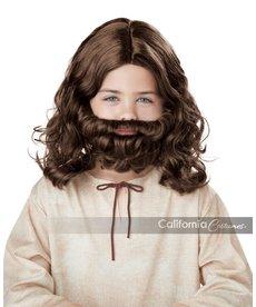 California Costumes Kid's Jesus Wig & Beard Set