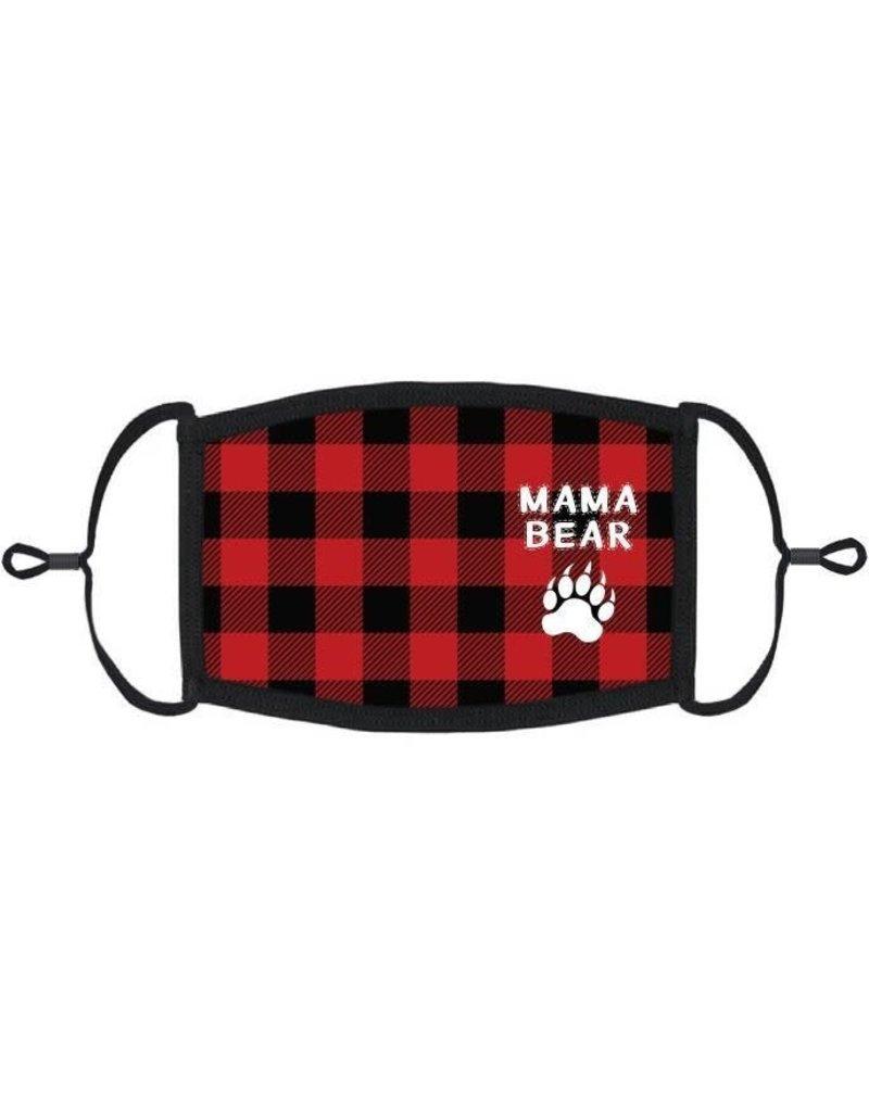 "Adjustable Christmas Face Mask: ""Mama Bear"" (1pk.)"
