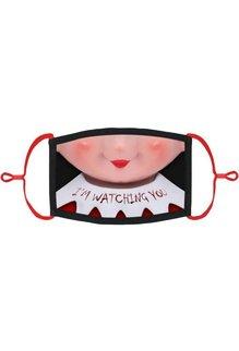 Adjustable Fabric Face Mask: Elf Face (1pk.)