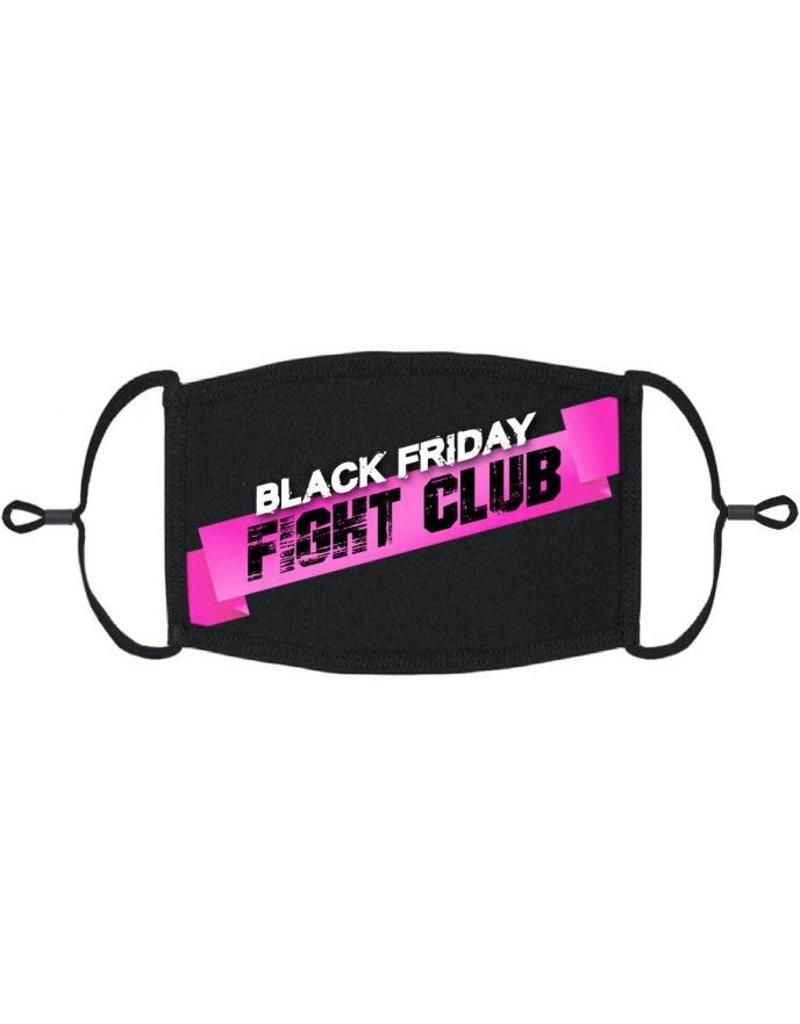 Adjustable Holiday Face Mask: Black Friday (1pk.)
