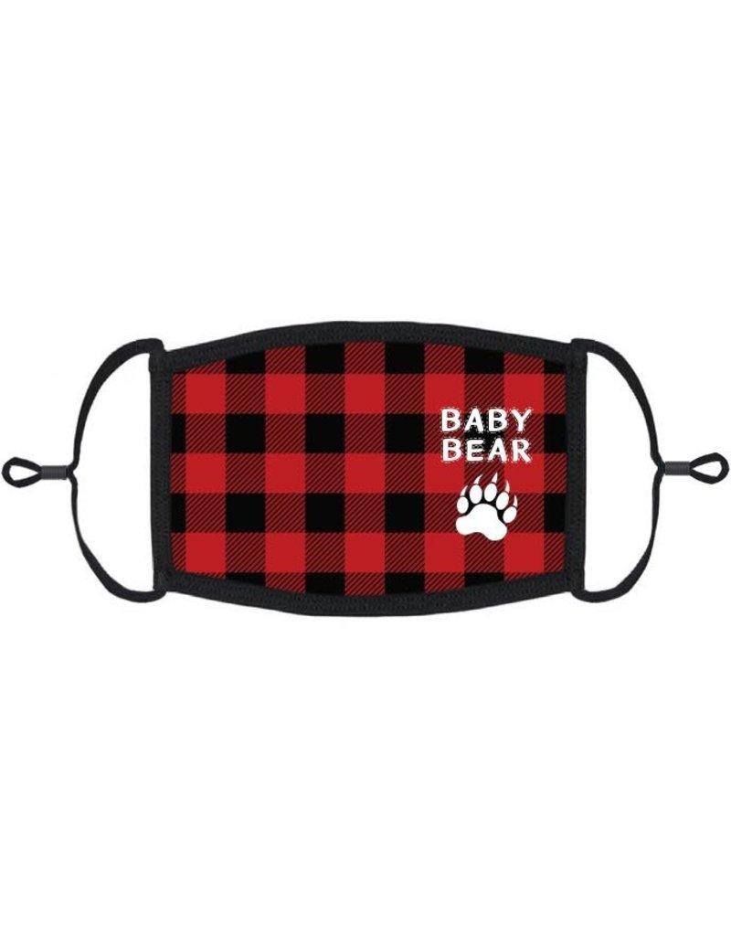 "Kids Adjustable Christmas Face Mask: ""Baby Bear"" (1 pk.)"
