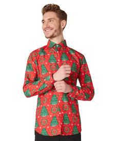 Christmas Trees Dress Shirt