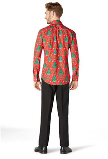 Christmas Trees Dress Shirt