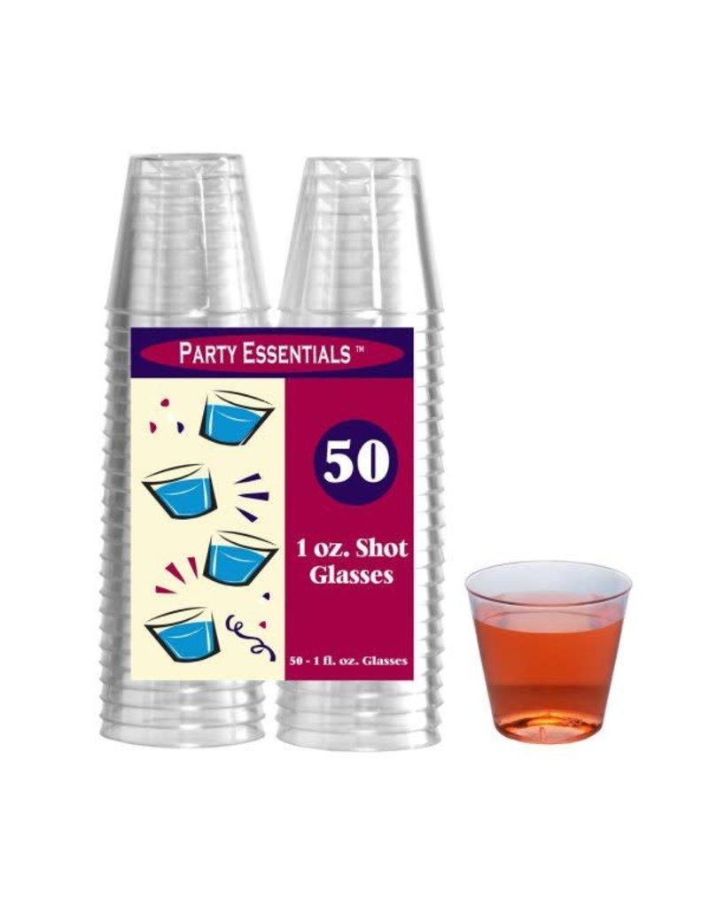 1oz. Shot Glasses: Clear (50ct.)