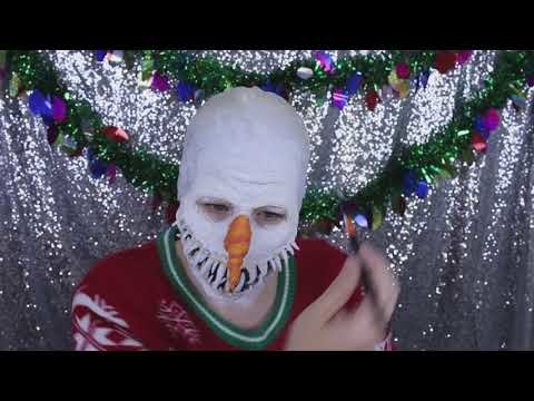 Evil Snowman Yeti Makeup Tutorial