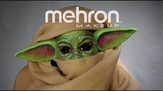 Baby Yoda Halloween Costume Makeup Tutorial