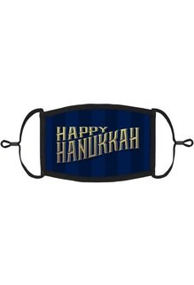 Adjustable Fabric Face Mask: Happy Hanukkah (1pk.)