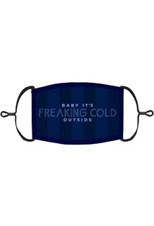 "Adjustable ChristmasFace Mask: ""Baby It's Freaking Cold Outside"" (1pk.)"