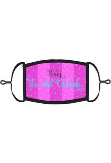 "Adjustable Christmas Face Mask: ""Baby It's Cold Outside"" (1pk.)"