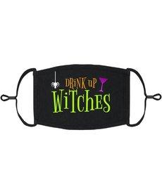Adjustable Coronavirus Halloween Mask: Drink Up Witches (1pk.)