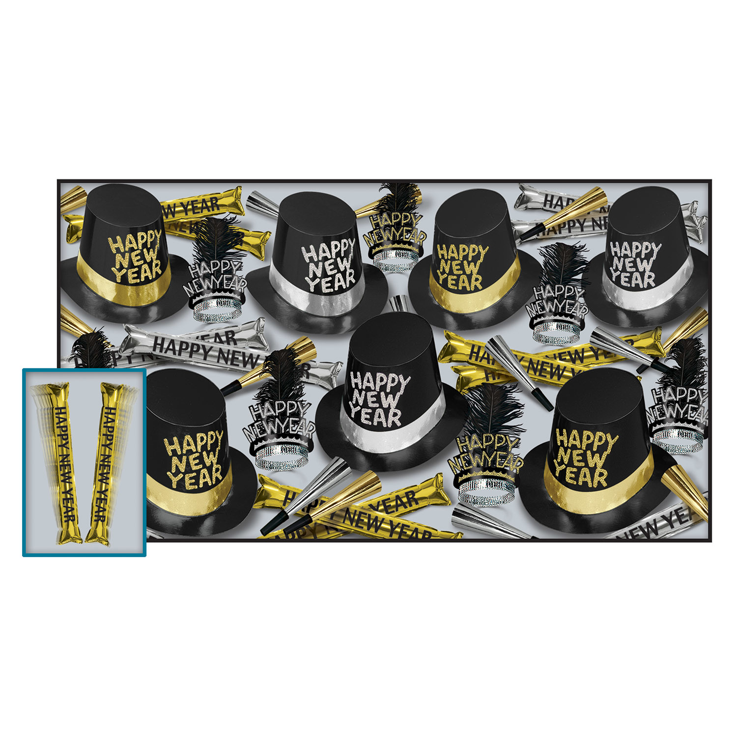 New Years Party Kits