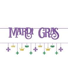 Amscan Mardi Gras Multi-Pack Banners