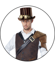 California Costumes Adult Steampunk Adventurer Costume