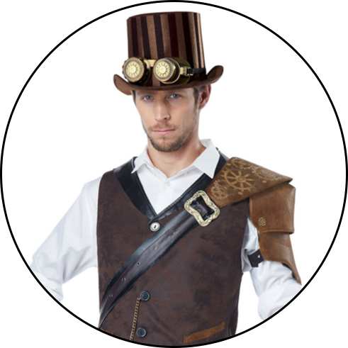Men's Steampunk Costumes