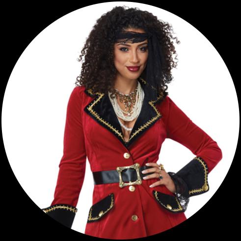 Women's Pirate Costumes