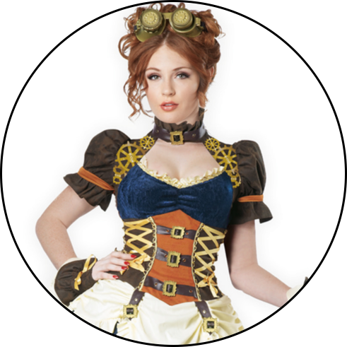 Women's Steampunk Costumes
