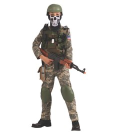 Rubies Costumes Kids Camo Trooper Costume