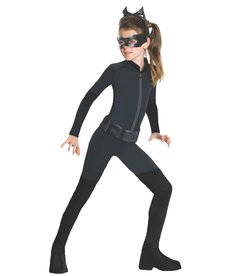 Rubies Costumes Girl's Catwoman Costume (Dark Knight Trilogy)