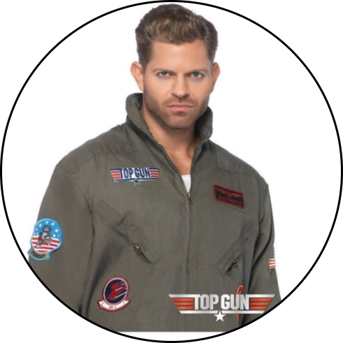Top Gun Costumes & Accessories