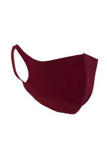 Fashion Cloth Face Mask: Burgundy