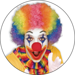 Clown & Circus Themed Costumes & Accessories