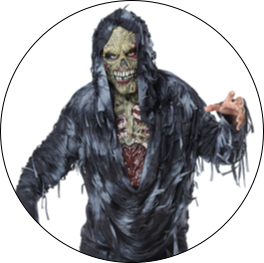 Zombie & Werewolf Costumes & Accessories for Adults & Kids